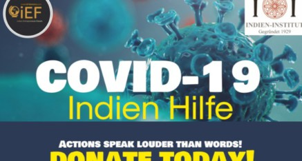 COVID Indien Hilfe
